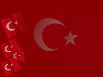 Turkey Flag PowerPoint Templates