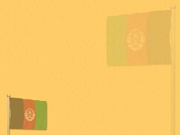 Afghanistan Flag PowerPoint Template