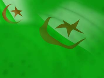 Algeria Flag PowerPoint Templates