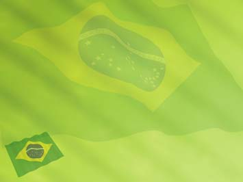 Brazil Flag PowerPoint Templates