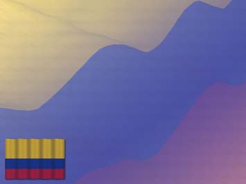 Colombia Flag PowerPoint Templates