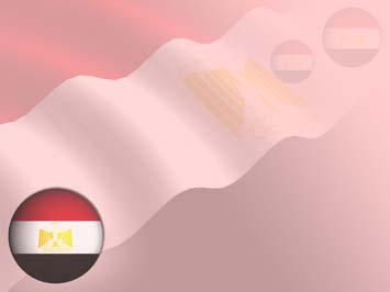 Egypt Flag PowerPoint Templates