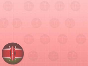 Kenya Flag PowerPoint Templates