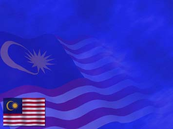 Malaysia Flag PowerPoint Template