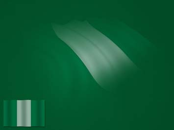 Nigeria Flag PowerPoint Template