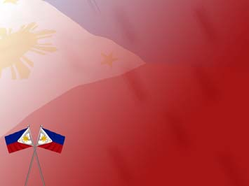Philippines flag 02 powerpoint templates philippines flag powerpoint templates toneelgroepblik Images