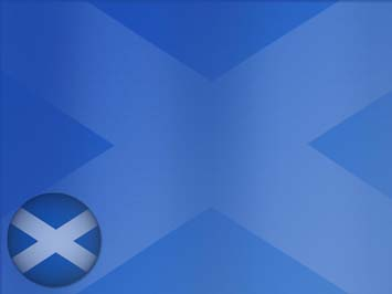 Scotland Flag PowerPoint Templates
