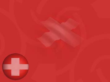 Switzerland Flag PowerPoint Templates