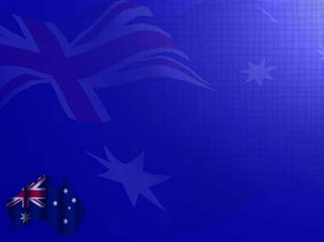 Australia Map PowerPoint Templates