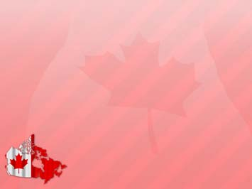 Canada Map PowerPoint Template