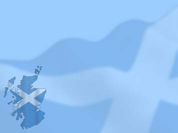 Scotland Map PowerPoint Templates