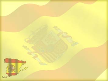 Spain Map 02 Powerpoint Templates