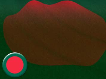 Bangladesh Flag PowerPoint Template