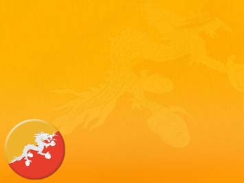 Bhutan Flag PowerPoint Templates