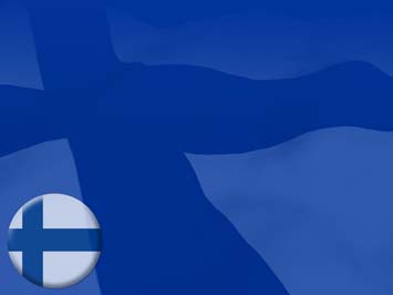 Finland Flag PowerPoint Templates