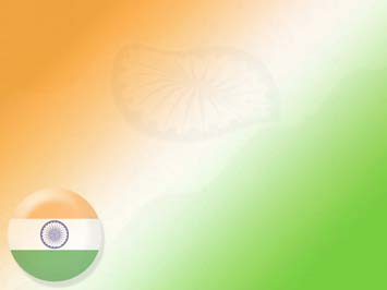 india flag 11 - powerpoint templates, Modern powerpoint