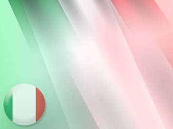 Italy Flag PowerPoint Template