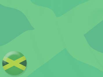 Jamaica Flag PowerPoint Templates