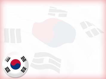 Korea south flag 04 powerpoint templates korea south flag powerpoint templates toneelgroepblik Images