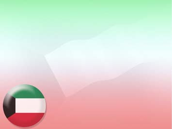 Kuwait Flag PowerPoint Template