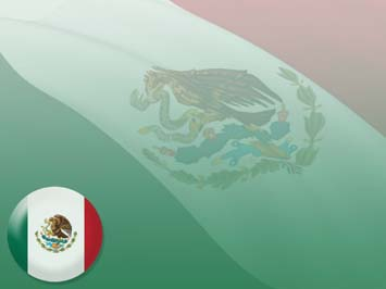 Mexico Flag PowerPoint Templates