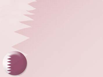 Qatar Flag PowerPoint Templates