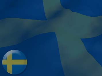Sweden Flag PowerPoint Templates