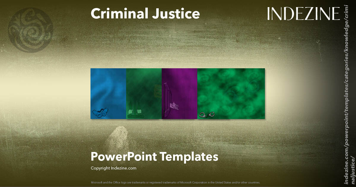 criminal justice powerpoint templates