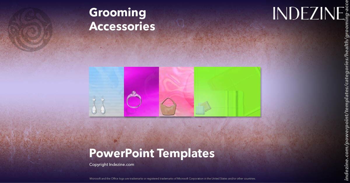 Grooming accessories powerpoint templates toneelgroepblik Gallery