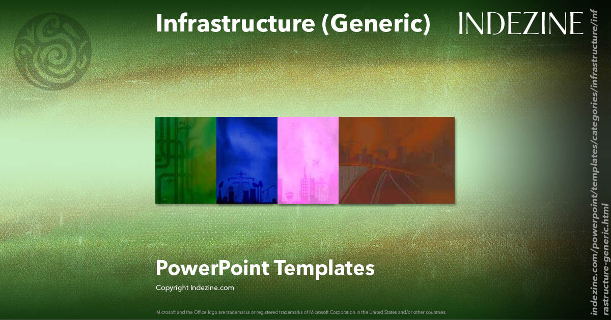 infrastructure  generic  powerpoint templates