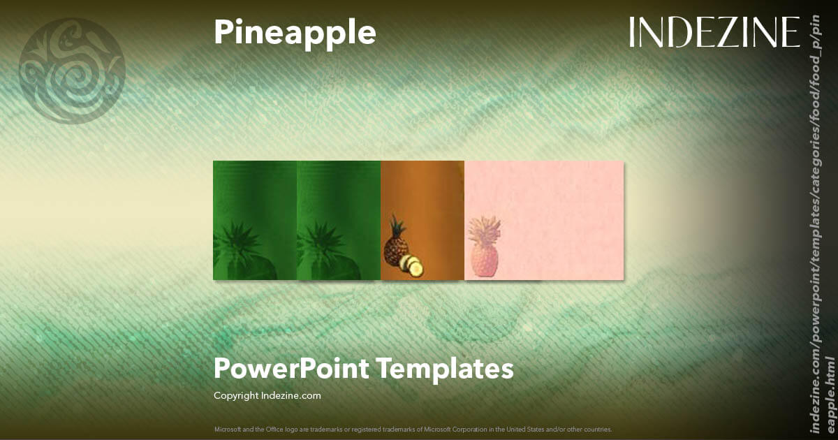 pineapple powerpoint templates