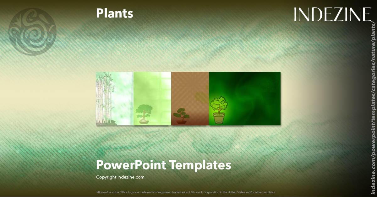 Plants Powerpoint Templates