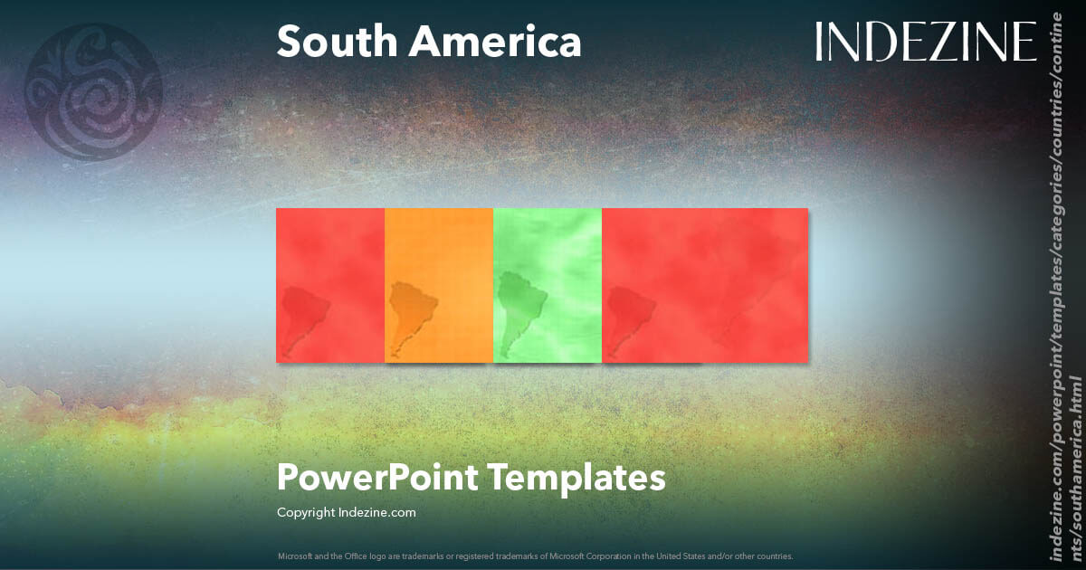 south america powerpoint templates