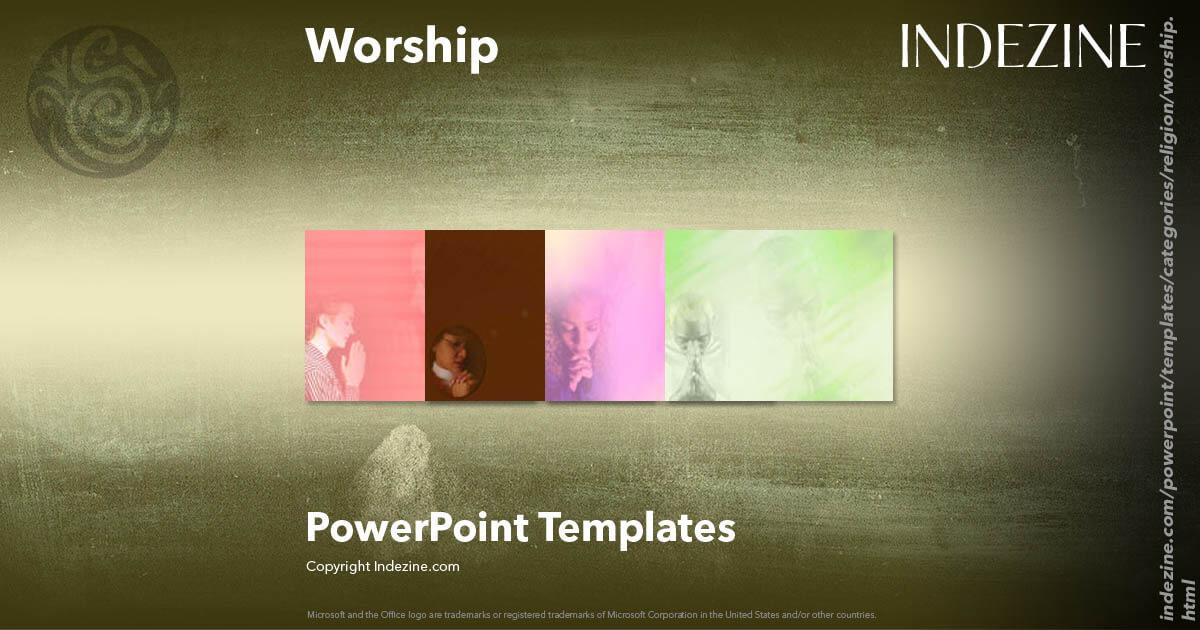 Worship Powerpoint Templates