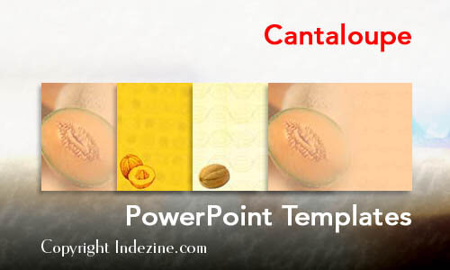 Cantaloupe PowerPoint Templates