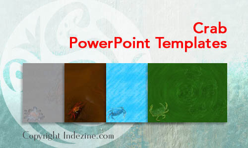 Crab PowerPoint Templates