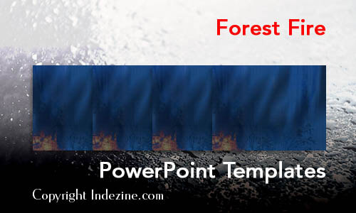 Forest Fire PowerPoint Templates