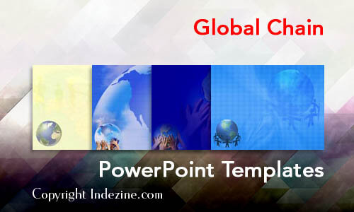 Global Chain PowerPoint Templates