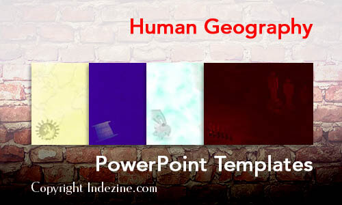 Human Geography PowerPoint Templates