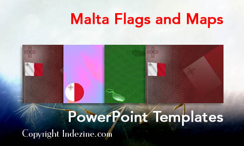 Malta Flags and Maps PowerPoint Templates