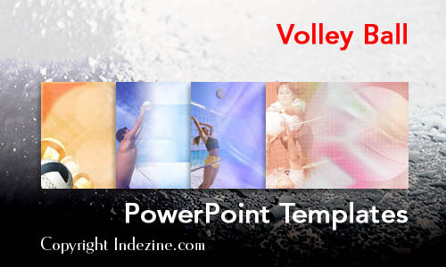 Volley Ball PowerPoint Templates