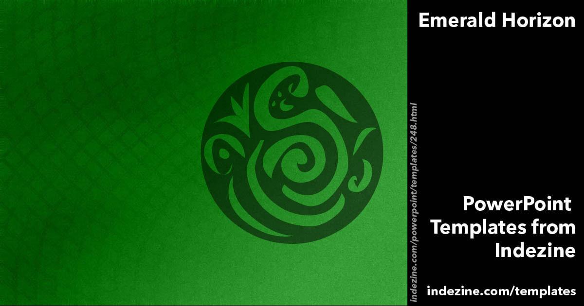 Emerald Horizon Powerpoint Template