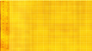 Yellow Ruler PowerPoint Template