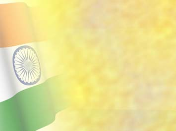 India Flag PowerPoint Template