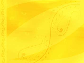 Yellow Paisley PowerPoint Template