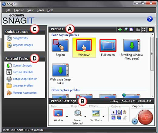 how to use snagit 9.1
