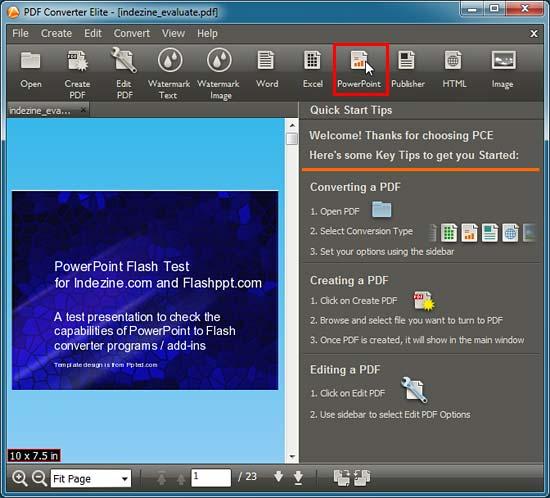 how to use pdf converter elite