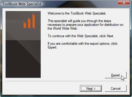ToolBook Web Specialist
