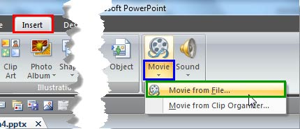 Movie from File option