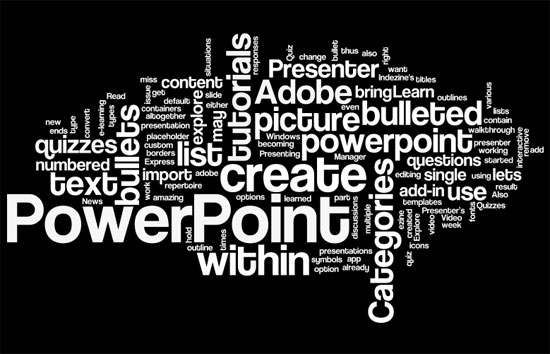 Creating Word Clouds For Powerpoint Using Wordle
